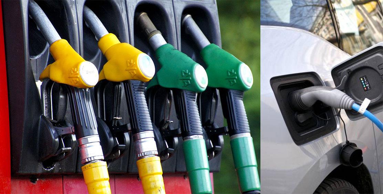 Gasóleo, gasolina ou elétrico